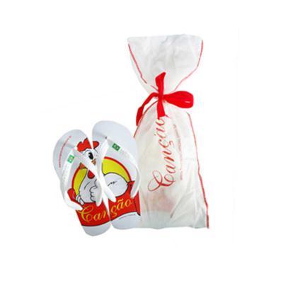 ato-produtos - Chinelo Havaianas personalizado com embalagem em TNT.