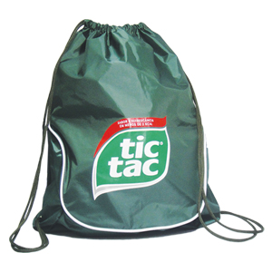 Ato Produtos - Mochila saco em nylon emborrachado.