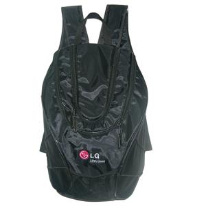Ato Produtos Promocionais - Mochila em nylon com compartimento para notebook e gravação personalizada.