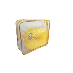 ato-produtos - Nécessaire em PVC cristal com zíper.