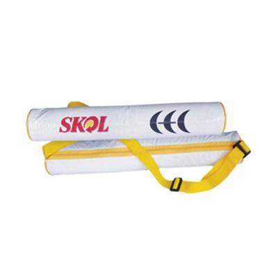 ato-produtos - Porta lata em PVC com alça, zíper e gravação personalizada.