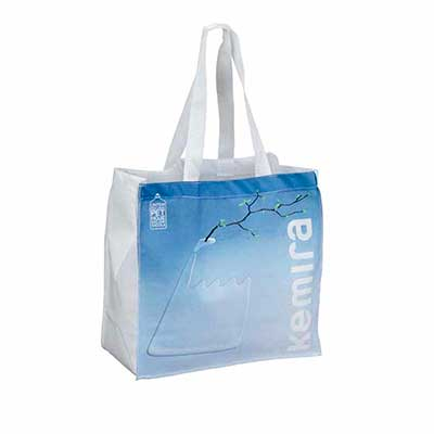 Ecobag 100% reciclada de garrafas pet.