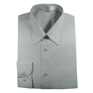 Camisa social masculina de manga longa com bolso e gravação personalizada.  Torne sua marca mais ae1d4c817f11f