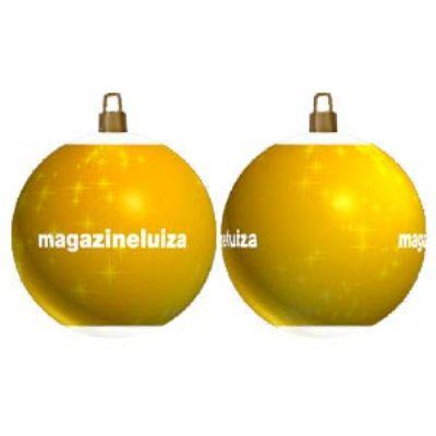 Brinde Natalino - Bola de Natal Personalizada