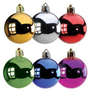 brinde-natalino - Bolade Natal nos diâmetros de 30mm até 120 mm, com pintura Metalizada em diversas cores