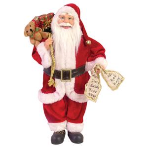 brinde-natalino - Papai Noel em pé 80cm