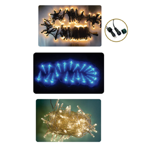 brinde-natalino - Conjunto pisca-pisca com 100 lâmpadas