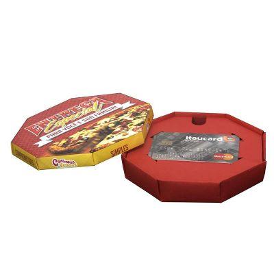 Encaixe - Caixa formato pizza