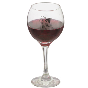 Taça de vidro para vinho, modelo PM Celebra.