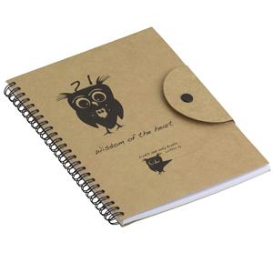 Print Maker - Caderno anotações modelo PM A02, com caneta.