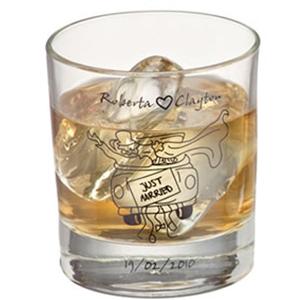 print-maker - Copo de vidro para whisky modelo Atol, com capacidade para 310 ml.