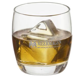 Print Maker - Copo de vidro para whisky modelo PM Oca 330 ml.