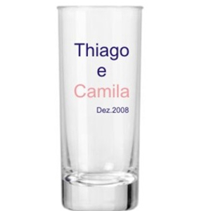 print-maker - Copo de vidro para Vodka, com capacidade para 80 ml.