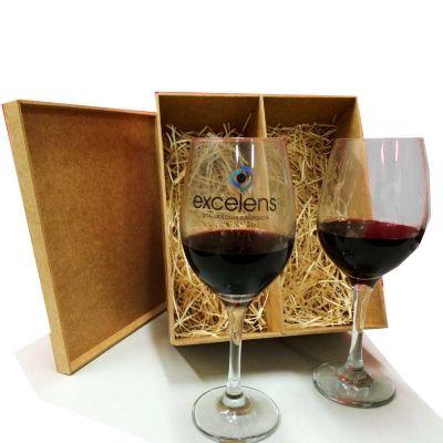 Print Maker - Kit taças para vinho personalizada.