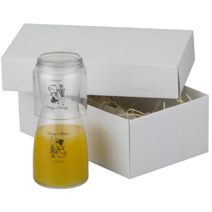 print-maker - Kit com Moringa de e copo de vidro, capacidade 500 ml.