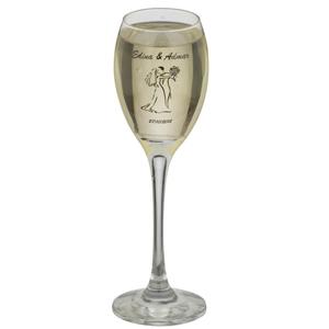 Print Maker - Taça de vidro para espumante, PM Celebra, capacidade 190 ml.