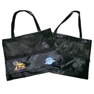 czk-confeccoes - Bolsa sacola feminina personalizada com redinha.