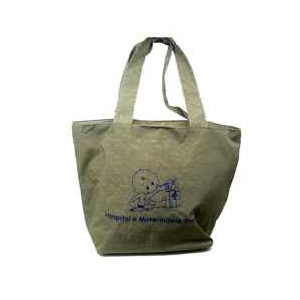 czk-confeccoes - Bolsa / sacola maternidade personalizada em nylon estonado.