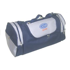 CZK brindes - Bolsa de viagem personalizada redondinha.