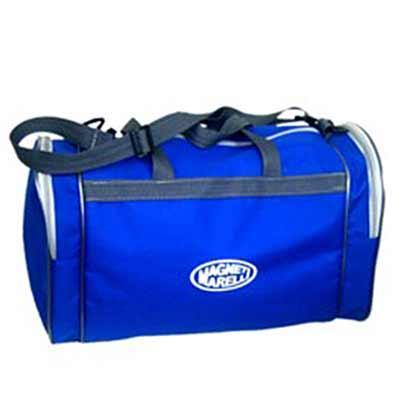 Bolsa de viagem com 02 bolsos alça de mão e ombro personalizada.