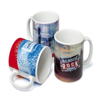 CZK brindes - Caneca de porcelana personalizada