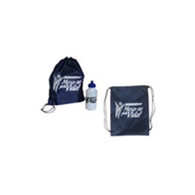 Kit esportivo personalizado com toalha e squeeze. - CZK brindes