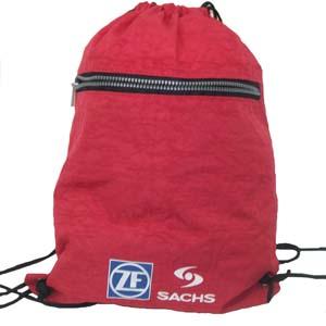 Saco mochila personalizado em nylon estonado. - CZK brindes