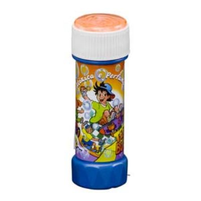 Bolha de sabão infantil com impressão Silkscreen ou papel adesivo.