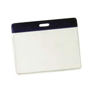 pulcor - Porta crachá horizontal em PVC flexível em medidas personalizadas