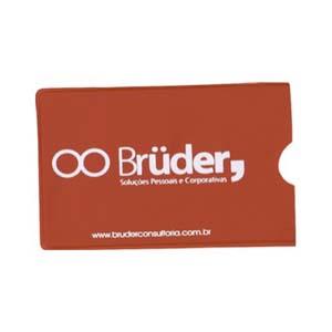pulcor - Protetor para cartão ou documentos,feito em PVC flexível e com impressão personalizada