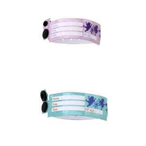 Pulcor - Pulseiras para Identificação,inviolável e em cores variadas