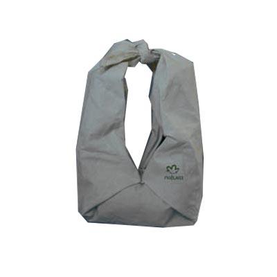 embalagem - Bolsa de nó personalizada em algodão cru. Pode-se alterar cor, material e tamanho.