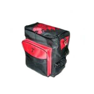 Embalagem - Bolsa térmica personalizada com capacidade para 45 litros, com diversos bolsos não térmicos, feita em nylon 600. Contem bolsa interna em PVC anti-vaza...
