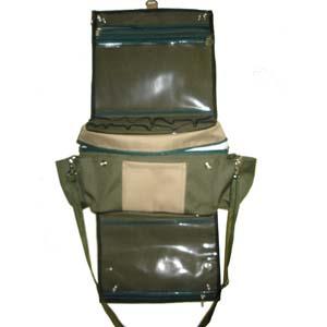 embalagem - Porta treco personalizado térmico veicular. Quando fechado vira um bolsa pequena. Feito em nylon 600. Pode-se alterar cor, material e tamanho.