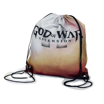 embalagem - Saco mochila em micro fibra com impressão colorida.