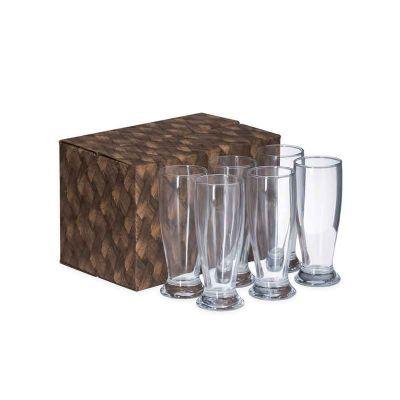 marca-laser - Conjunto com 6 copos para cerveja