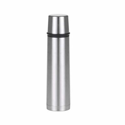 marca-laser - Garrafa térmica em aço inox 1 litro com tampa.