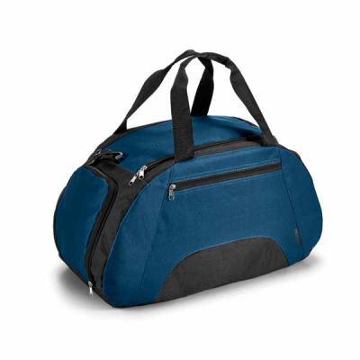 Bolsa esportiva em poliéster 600D com divisória interior, saco para peças sujas, bolso frontal co...