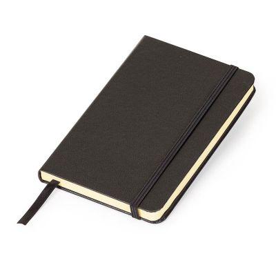marca-laser - Caderneta MLSK de anotações com capa rígida na cor preta