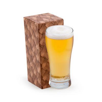 marca-laser - Copo personalizado em vidro para cerveja. Com capacidade para 200 ml, em caixa individual.