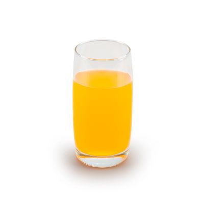 Marca Laser - Copo de vidro personalizado para água 440 ml (A granel).