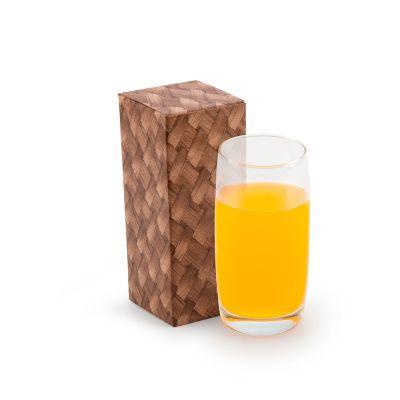 marca-laser - Copo de vidro para água 440ml em caixa para presente individual