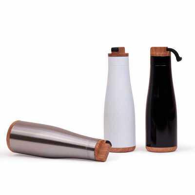Garrafa aço inoxidável capacidade 750 ml