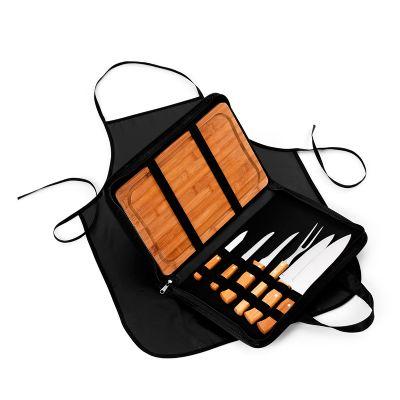 marca-laser - Estojo maleta para churrasco 9 peças  med. 370x 230x 15mm