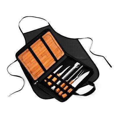 marca-laser - Estojo maleta para churrasco 9 peças