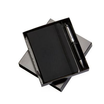 Kit escritório com caderneta de anotações - Marca Laser