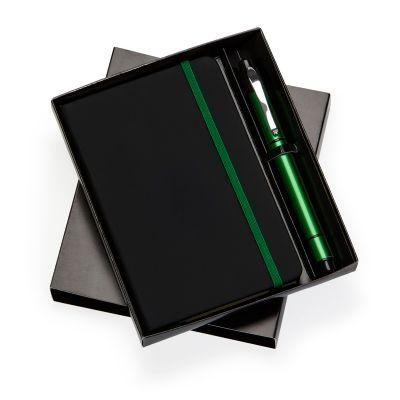 marca-laser - Kit escritório com caderneta de anotações