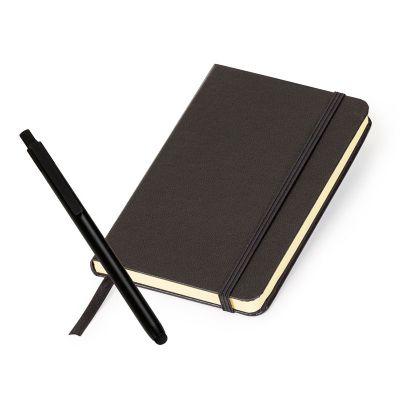 marca-laser - Kit escritório com caderneta de anotações e caneta touch