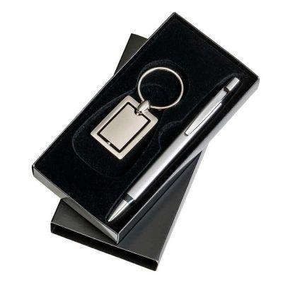 marca-laser - Kit escritório com chaveiro e caneta