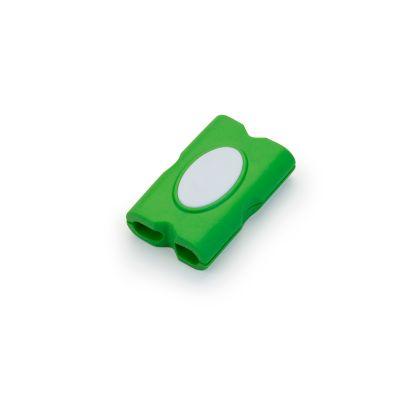 marca-laser - Organizador de cabos verde.